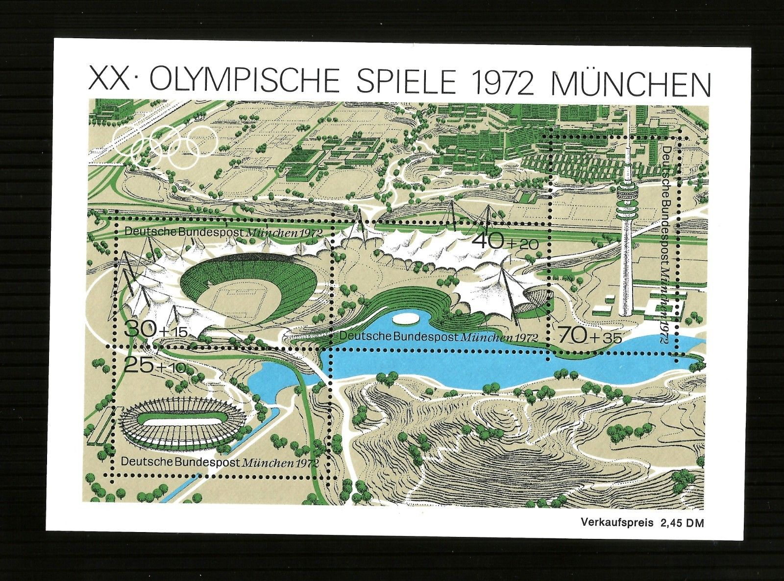 Germany -1972 Miniature sheet  mint/n/h