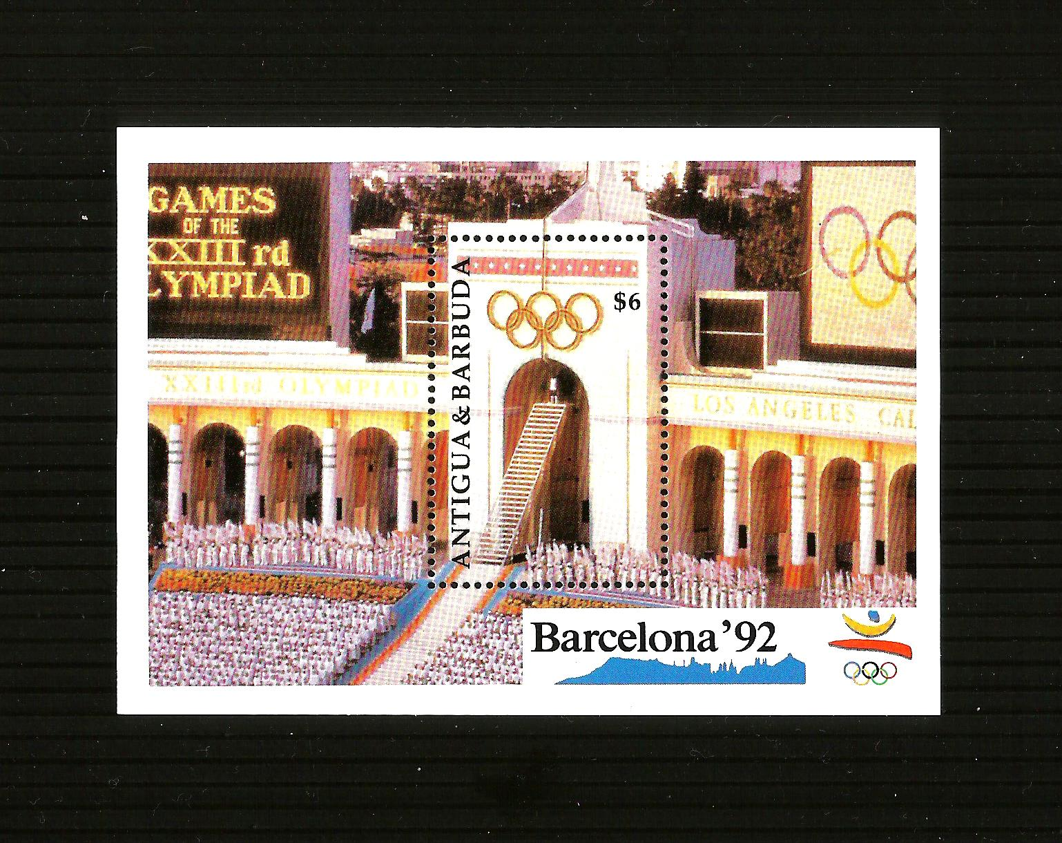 Antigua1992 Sports Summer Olympic Games Barcelona 92 Stadium - m
