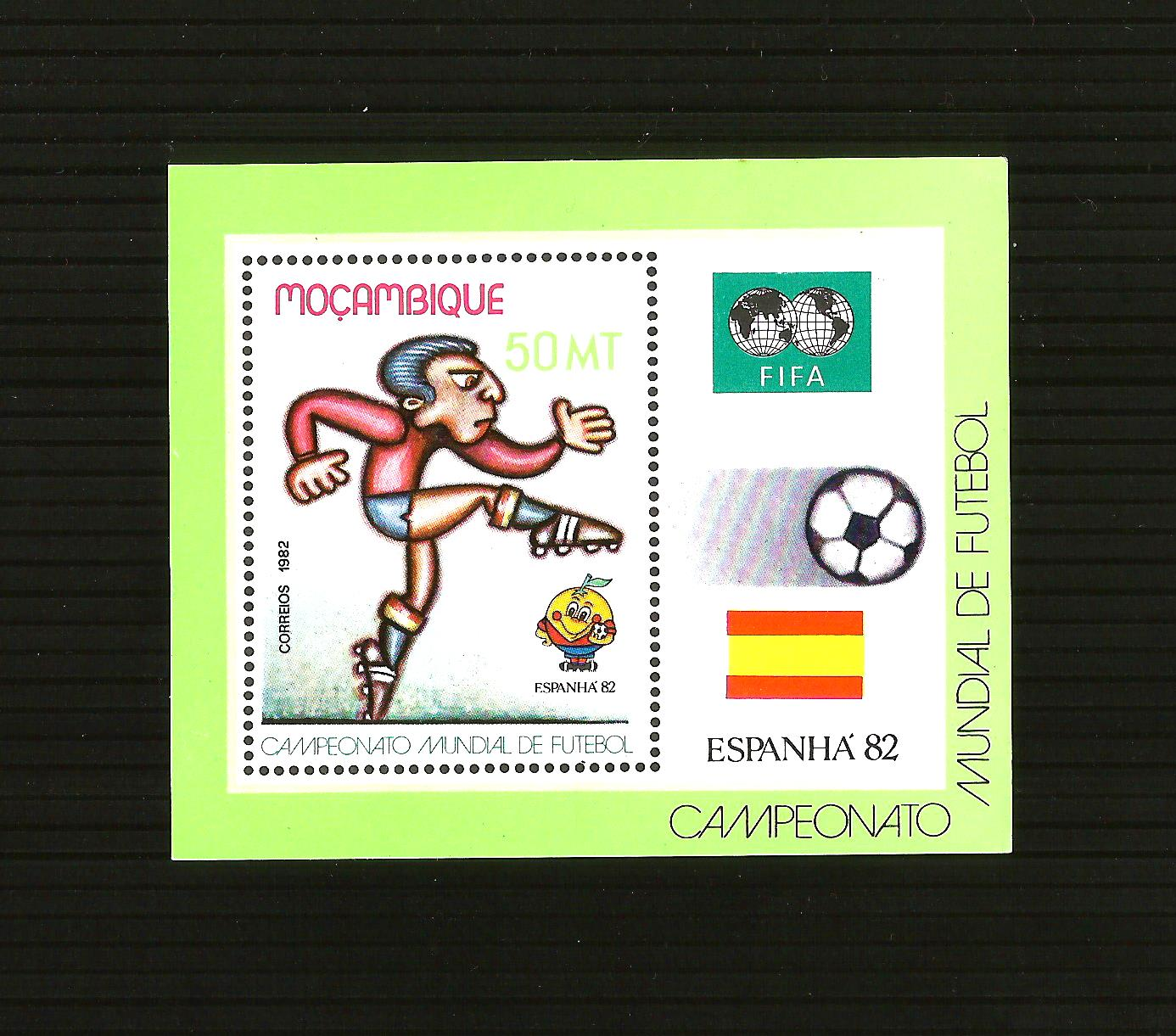 MOZAMBIQUE 1982 MNH** World Cup Football  mint
